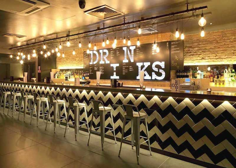 Commercial design bar restaurants and commercial design for Restaurant interior designs ideas