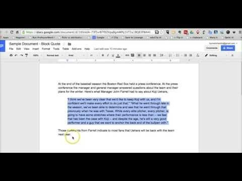 Free Technology for Teachers How to Format Block Quotes in Google - how to make a resume on google docs