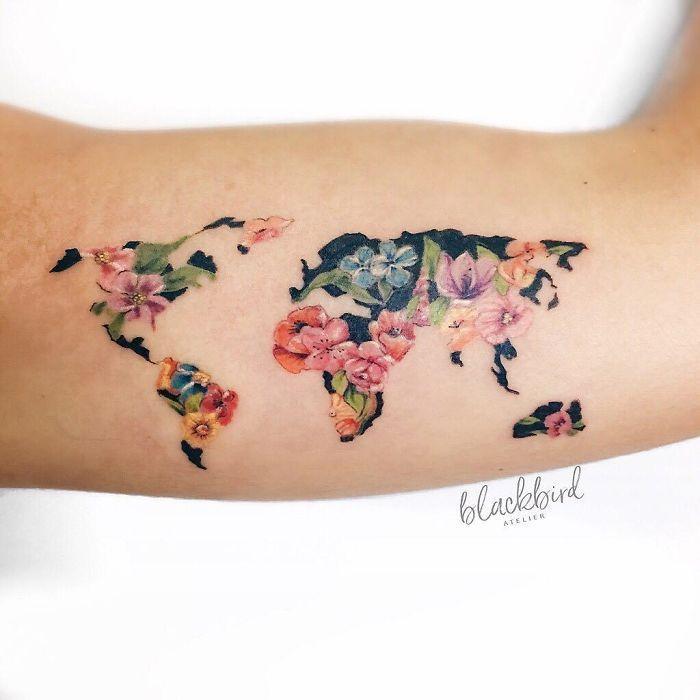 Statt Stempel im Reisepass: Mit diesen Tattoos zeigst du jedem, wo du warst #tattoosandbodyart