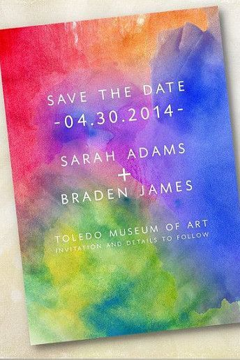 wedding moodboard rainbow ideas for your celebration - Rainbow Wedding Invitations