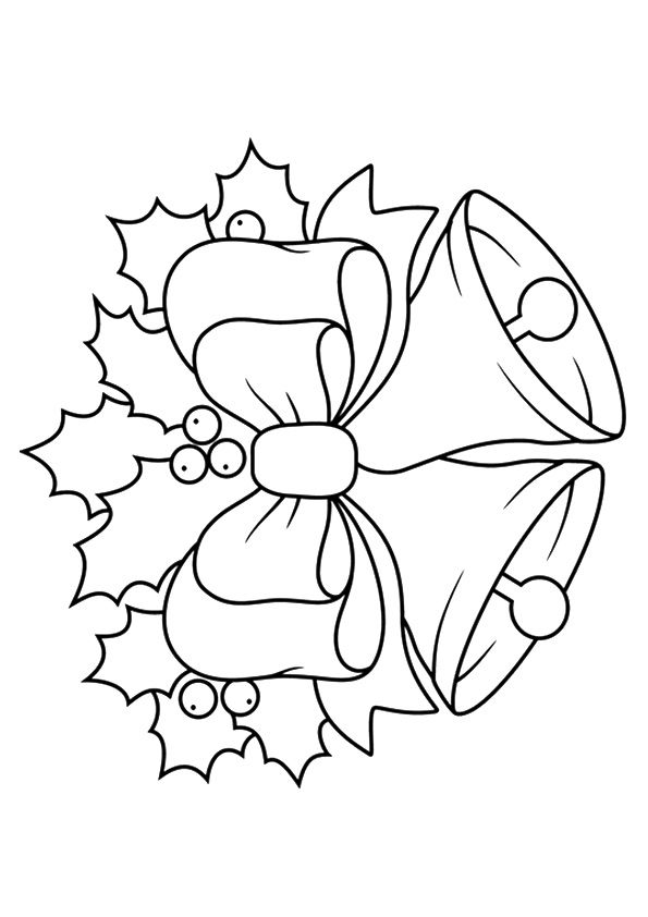 10 Cute Bell Coloring Pages For Your Toddler