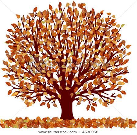 fall flowers clipart fall tree clip art item 4 vector magz rh pinterest com autumn tree clipart free Clip Art of Autumn Scenery