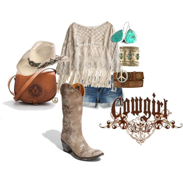 """Cowgirl"" by southern-hippie on Polyvore"