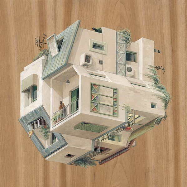 Surreal Architectural Illustrations By Cinta Vidal Agullo