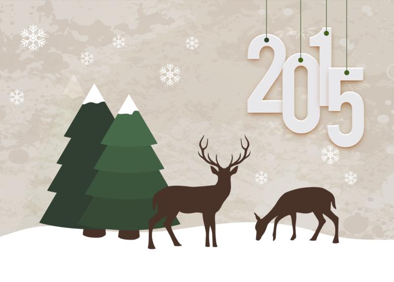 cadeau : carte de voeux à imprimer   bonne année - happy new year