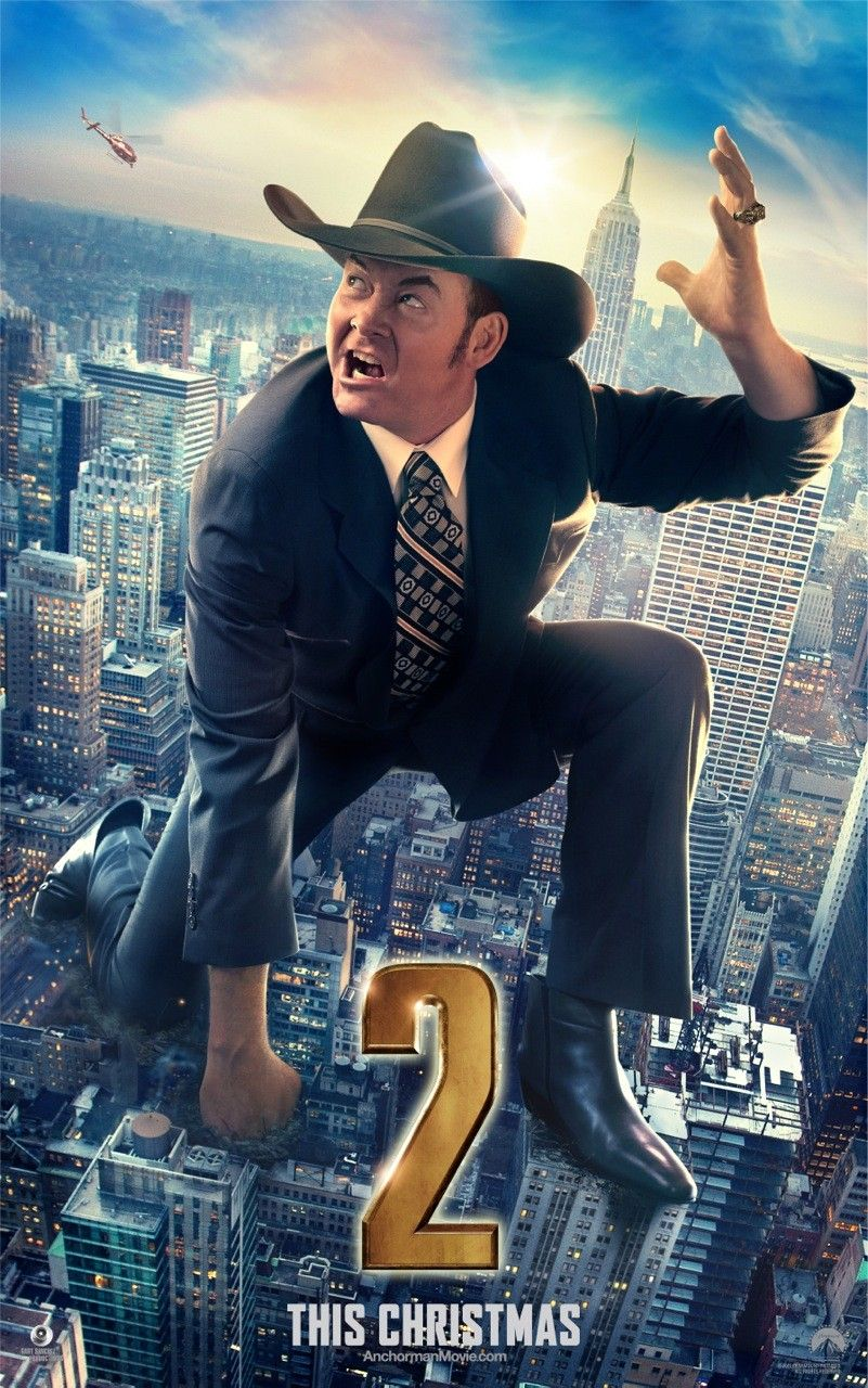 Champ Kind Anchorman Anchorman 2 New Movie Posters