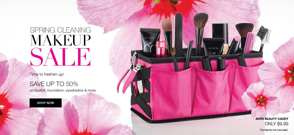 Avon Spring Cleaning Makeup Sale Save Up To 50 Always Be You