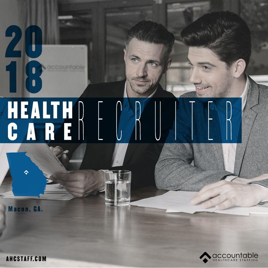 Recruiter healthcare recruiting recruitment health care