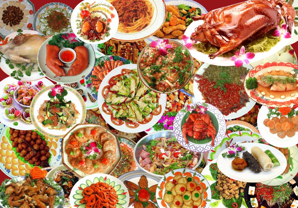 Chinese New Year celebration food idea Longevity Noodles