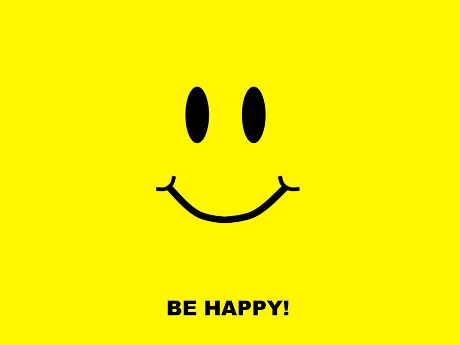 Be Happy HD Desktop Wallpaper  I Choose to be Happy  Pinterest  Happiness
