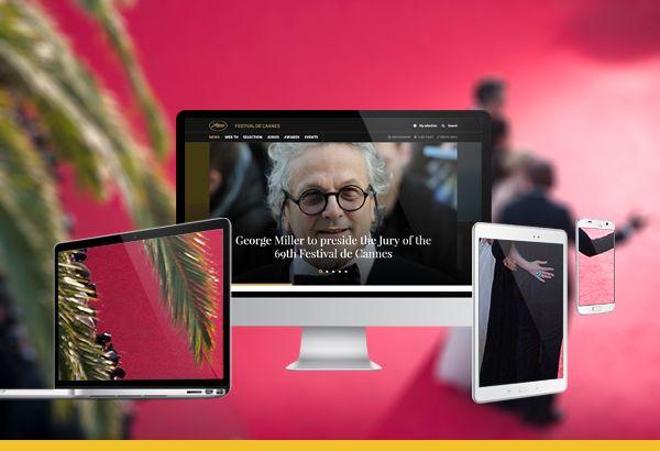 مهرجان «كان» يكشف عن هوية رقمية جديدة لموقعه عبر الانترنت on سينماتوغراف http://cinematographmag.com