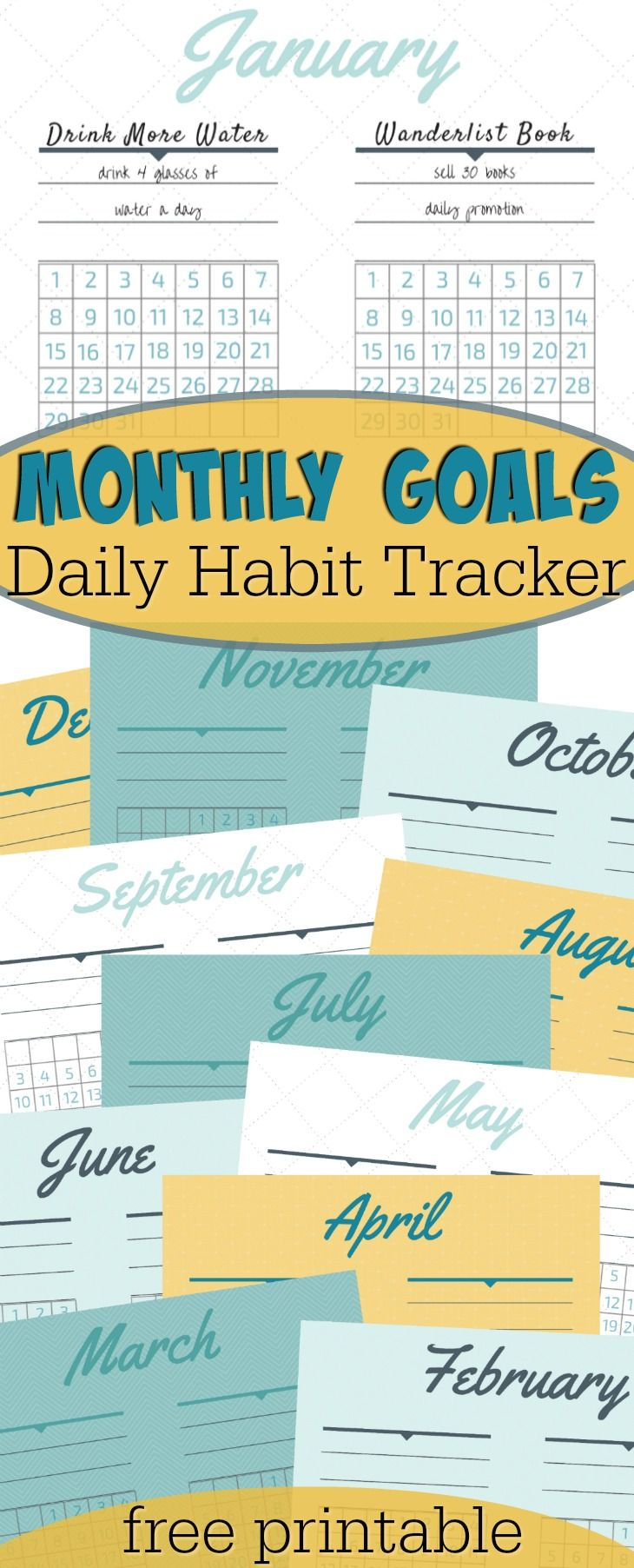New years resolution ideas to help you succeed! Goals worksheet ...