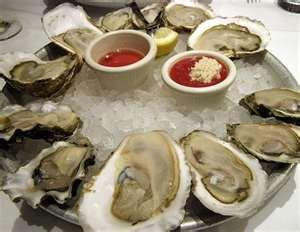 Raw Oysters - Yum!!!