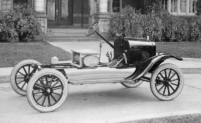 Tbt An Original Ford Model T Chassis This Is How All Earlty Ford