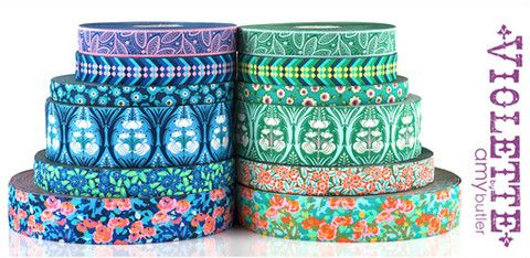 New Violette Ribbon Collection from Amy Butler! – Renaissance Ribbons