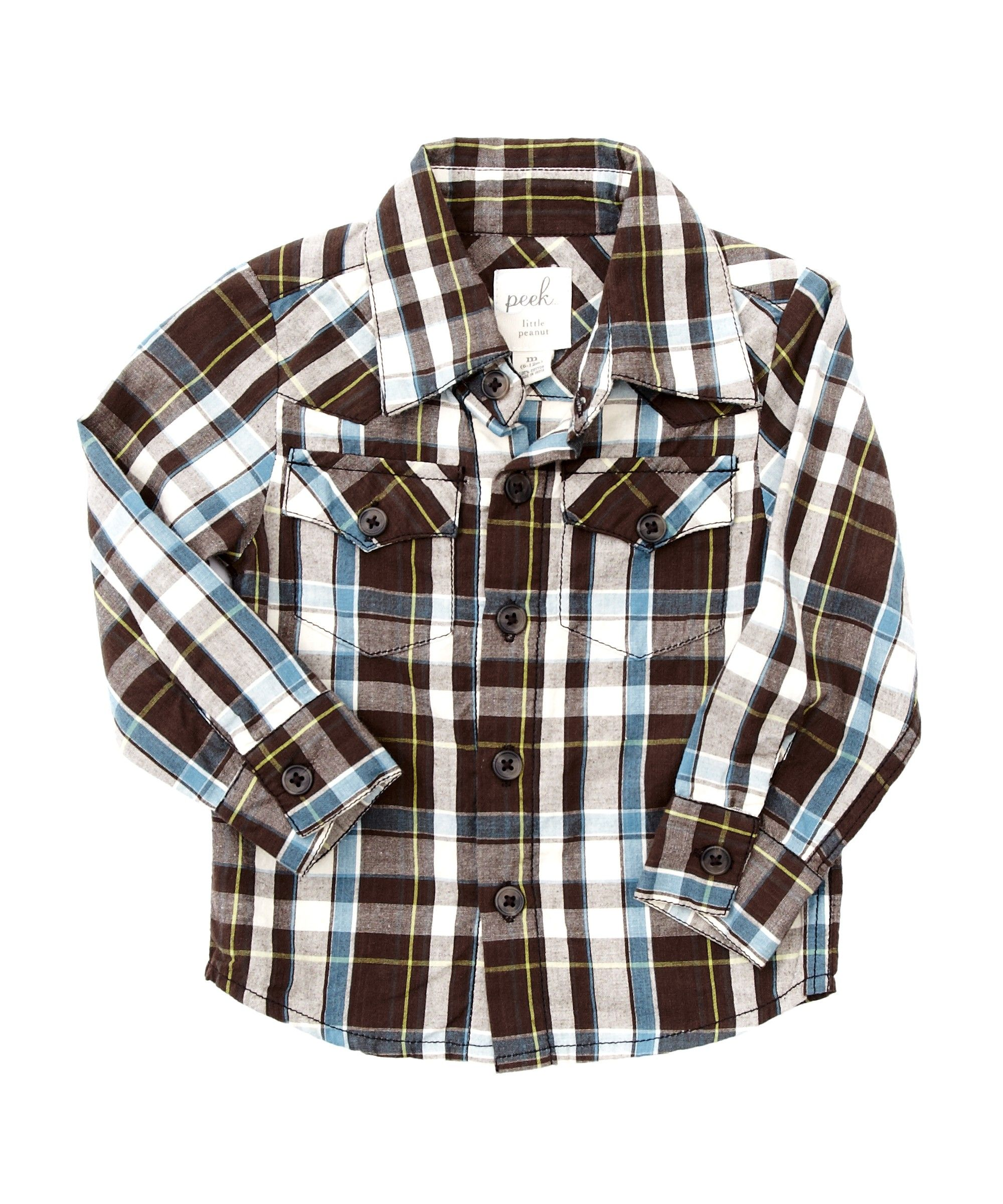 Baby James Western Plaid Shirt Baby Boys Shop sale