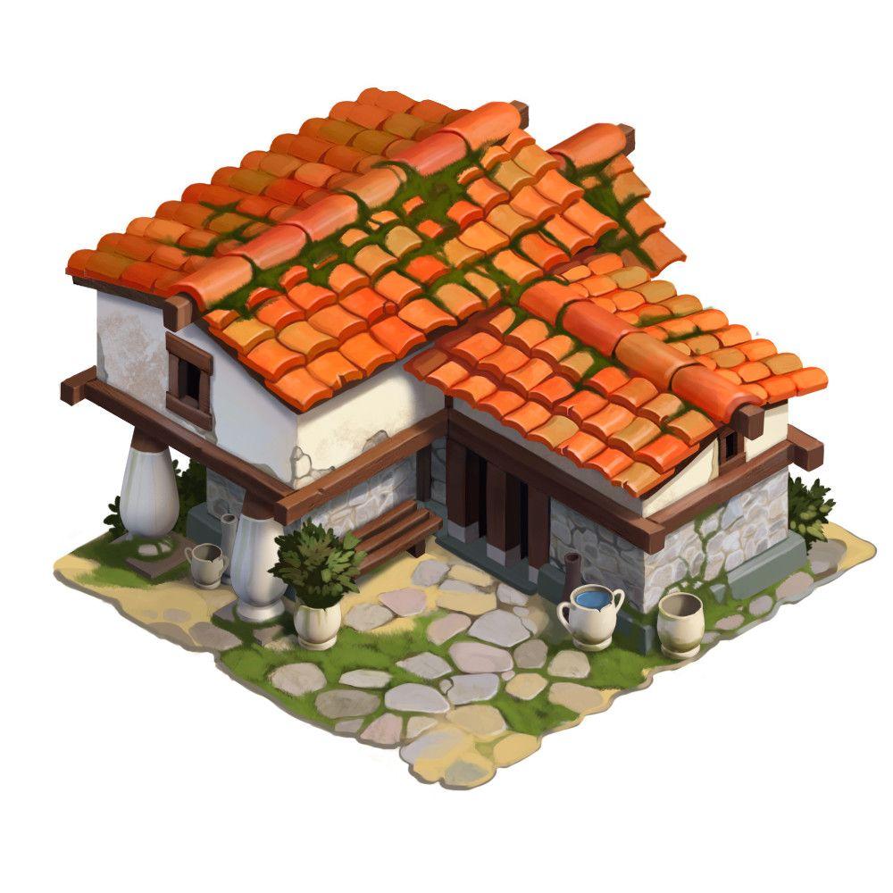 ancient Greek house Roman Semenenko