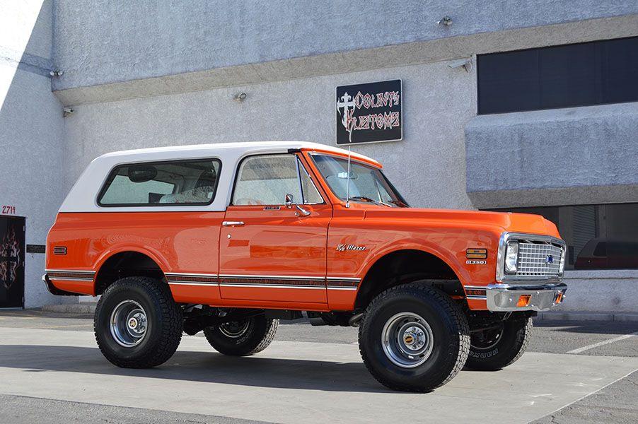 Exactly Like The 72 K5 I Owned In 1983 Classic Chevy Trucks K5 Blazer Chevrolet Blazer
