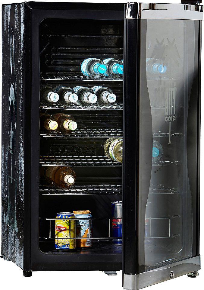 CUBES Kühlschrank HighCube Afri-Cola, A+, 83,5 cm hoch | Cola and Cube