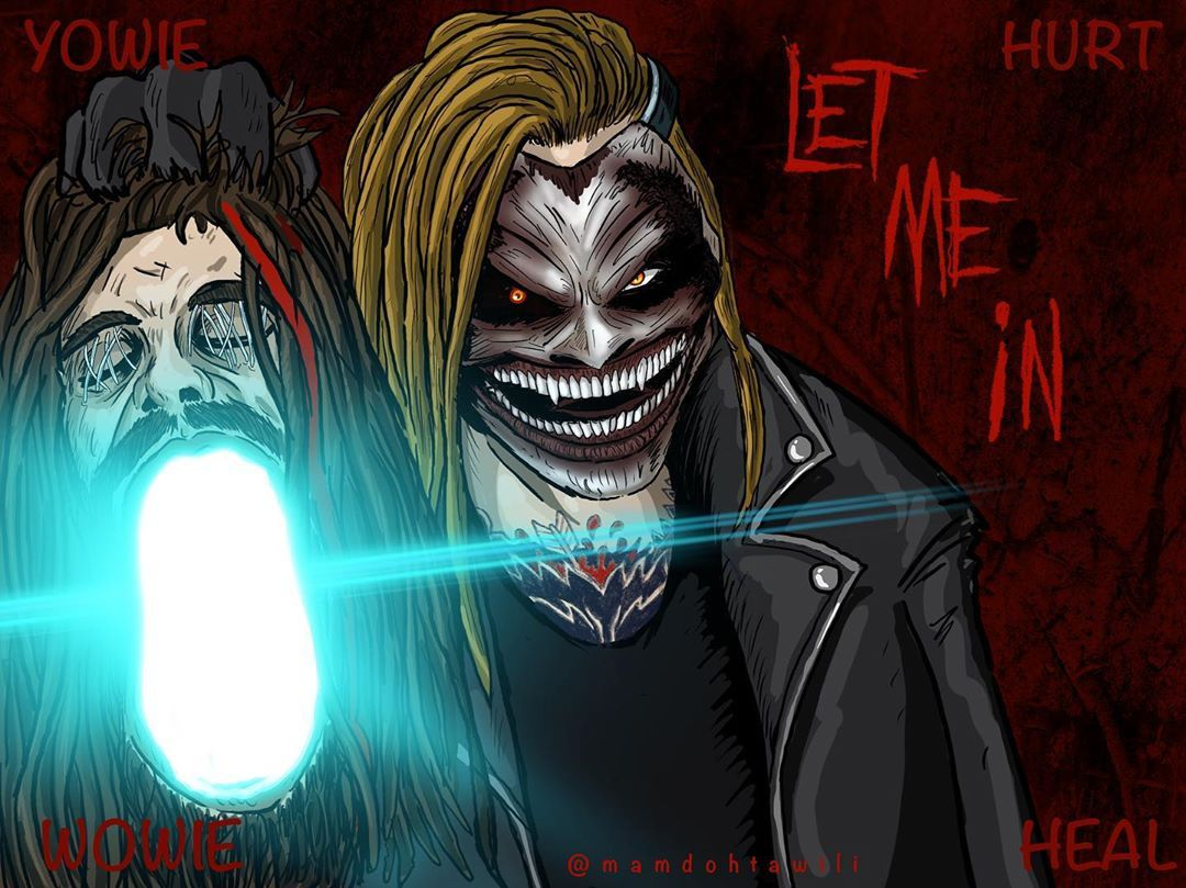 The Fiend Bray Wyatt, my digital illustration created with