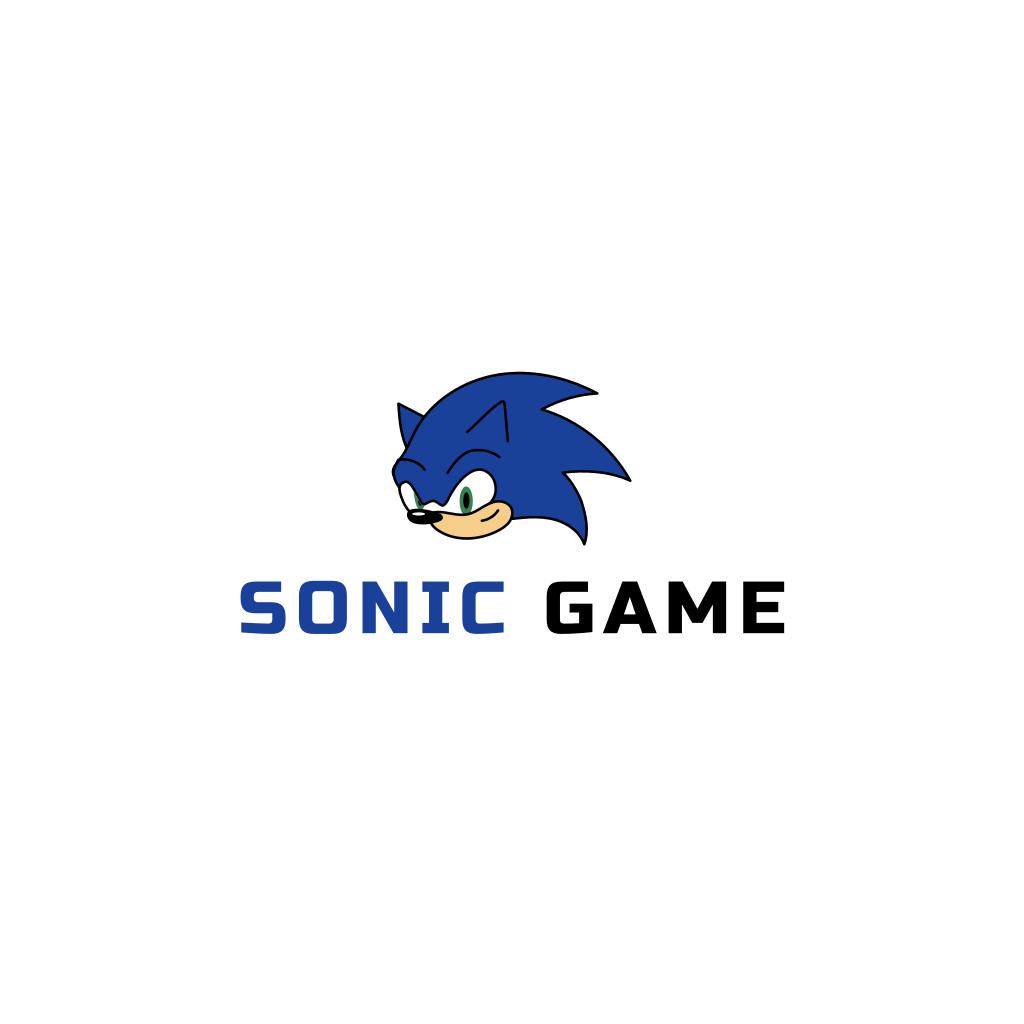 Sonic Character Logo Pet Logo Design Online Logo Creator Logo Maker
