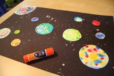 solar system crafts for preschoolers solar system art bbc