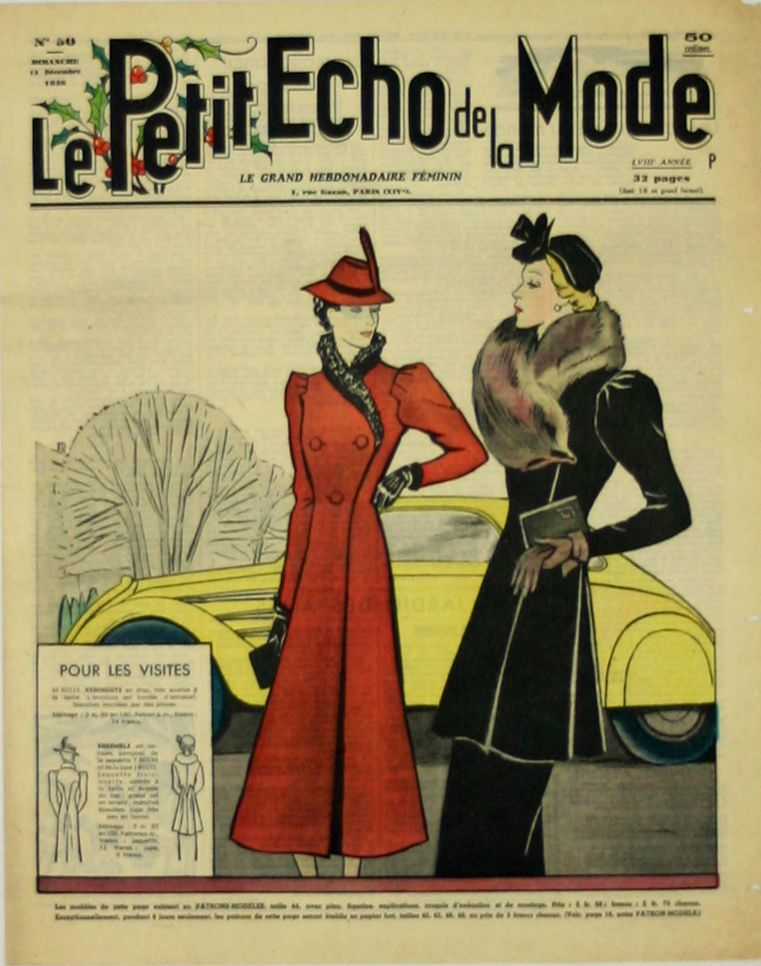 Petit Echo De La Mode : petit, Poster, Magazine, Cover, Petit, Www.french-vintage-posters.fr, Fashion,, Vintage, Magazines,, Womens, Fashion