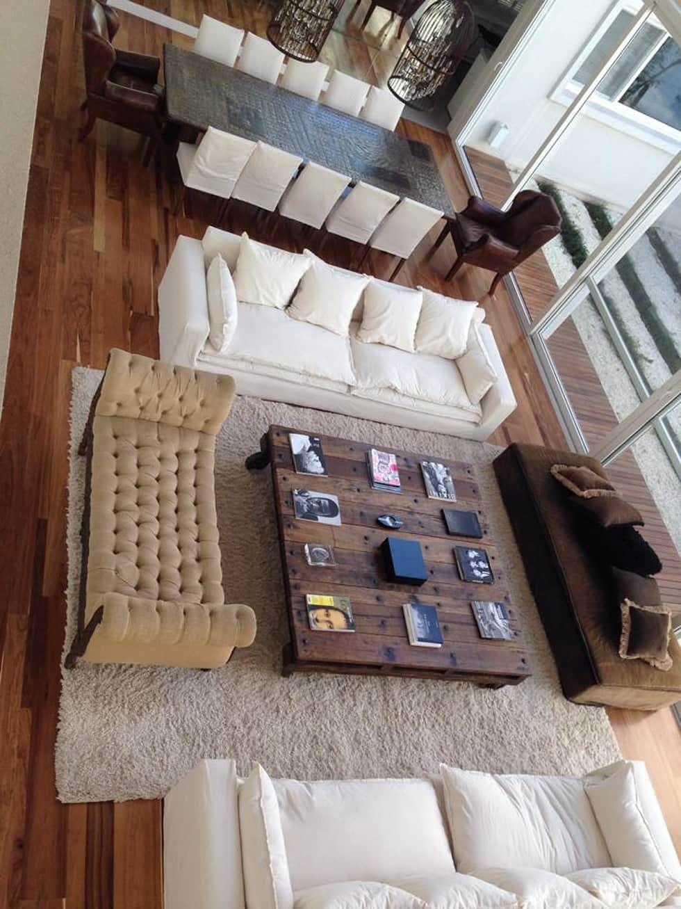 Casa moderna livings de estilo por gg a decoracion for Salone casa moderna
