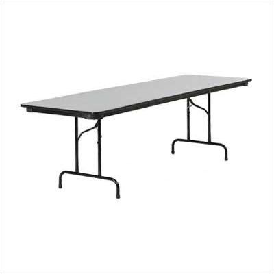 6000 Series Folding Table 30 X 60 Color Walnut By Virco
