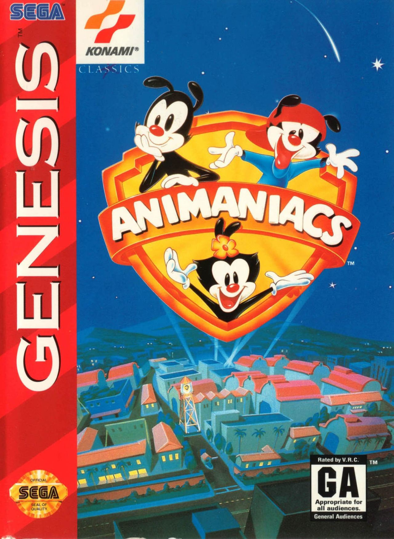 Animaniacs Sega Genesis Legendofnes Animaniacs Sega Genesis
