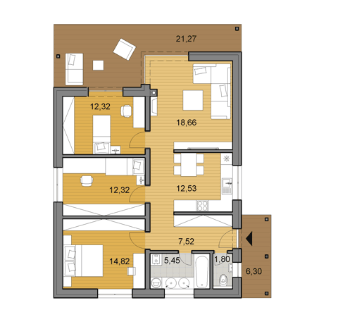 House Plans Choose Your House By Floor Plan Djs Architecture Floor Plans Apartment Floor Plans Small House Plans