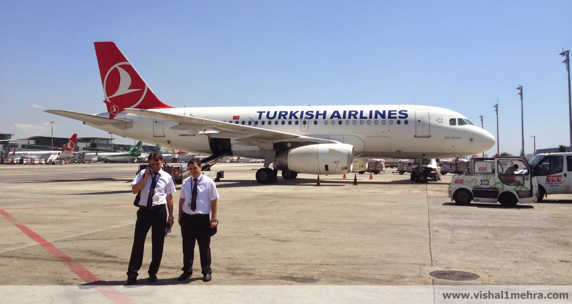 Vishal Mehra and Co. Turkish airlines, Istanbul airport