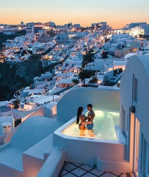 highsocietymagazine:  Couples goals in Santorine Greece…. Expensive cars Dream cars Beautiful cars Amazing cars Luxury cars rolls royce Wallpaper Tr…