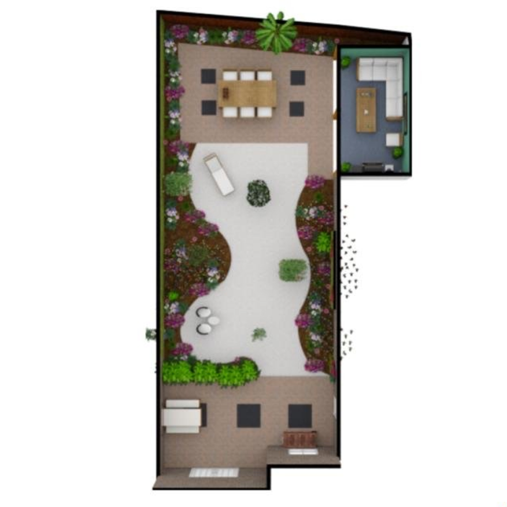 3d Render Created With Floorplanner Com Create Floor Plan Floor Plans Office Space