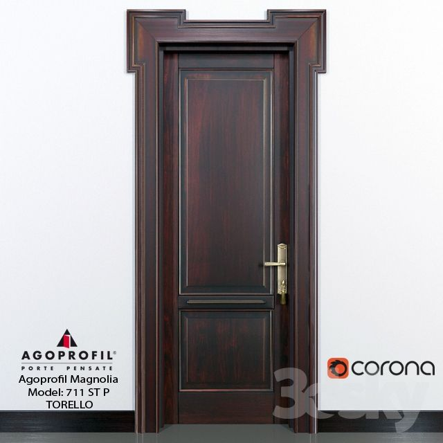 3d Models Window Door Agoprofil Magnolia Model 711 St P Torello Tall Cabinet Storage Magnolia Wooden Doors