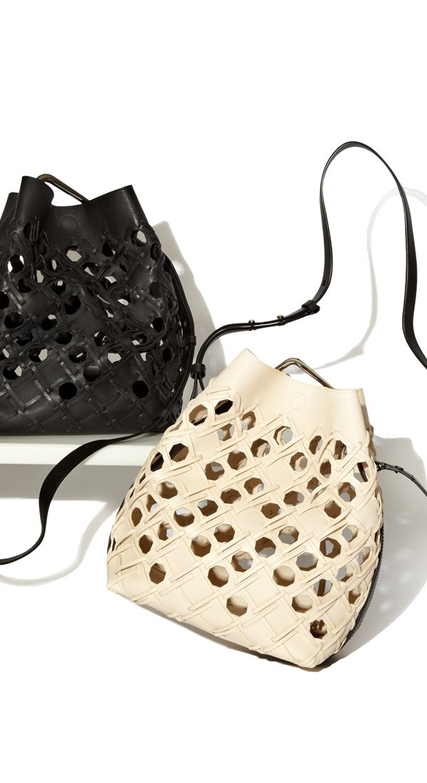 Meet the new Quill Cutout Bucket Bag from 3.1 Phillip Lim
