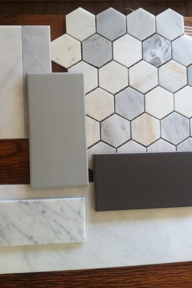Collamore built tile options for master bath carrara for Masters wall tiles