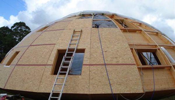 Купольный дом своими руками   Купольные дома, Депо, Дом