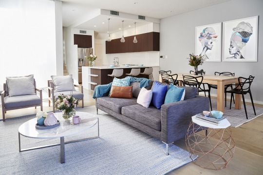 How Gorgeous Is This Home Designed By Idistudent Leanne Abrahams From Lily Rose Interiors You Can View More Of Her Work And Services Via Her Website W Sala