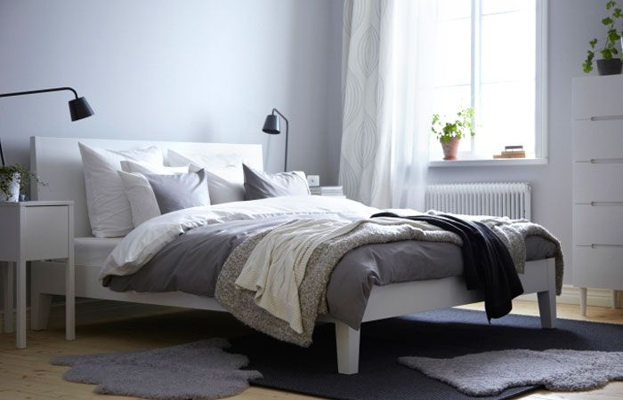 ikea sterreich inspiration schlafzimmer nordli bettgestell mit f rglav bettw sche ikea. Black Bedroom Furniture Sets. Home Design Ideas