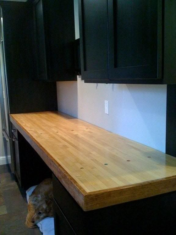 Bowling Lane Countertop Love The Edge Trim With Images Barn