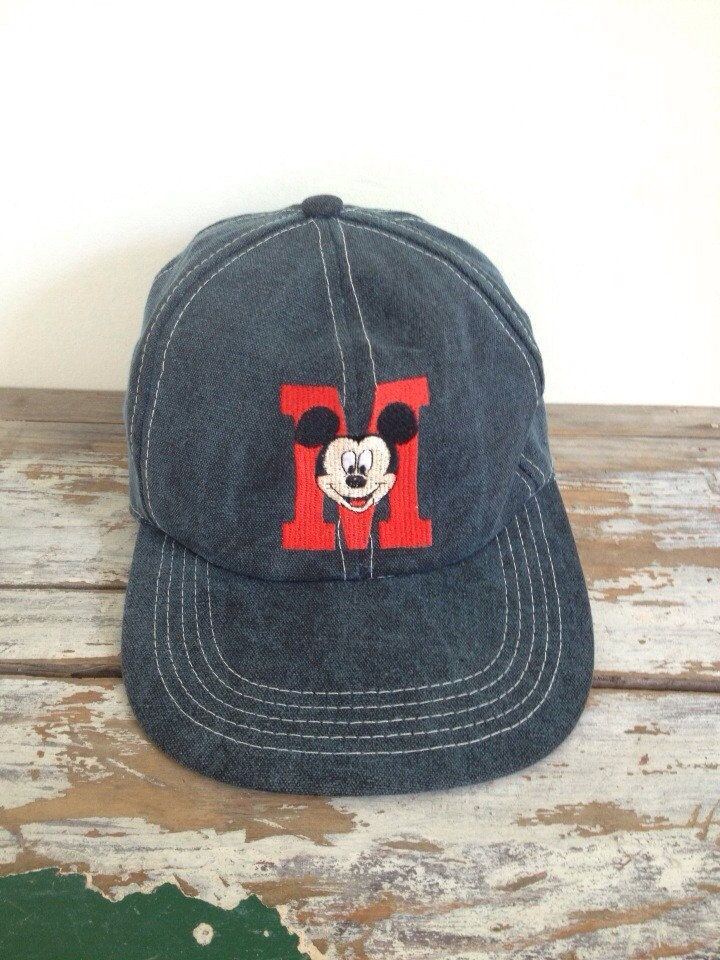 93f88789cce56 Vintage Mickey Mouse Hat