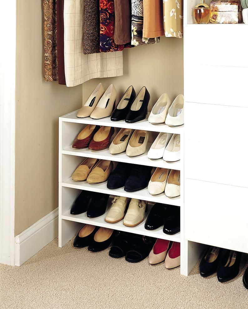 Shoe Storage Ideas For Small Closets Stunning Fine