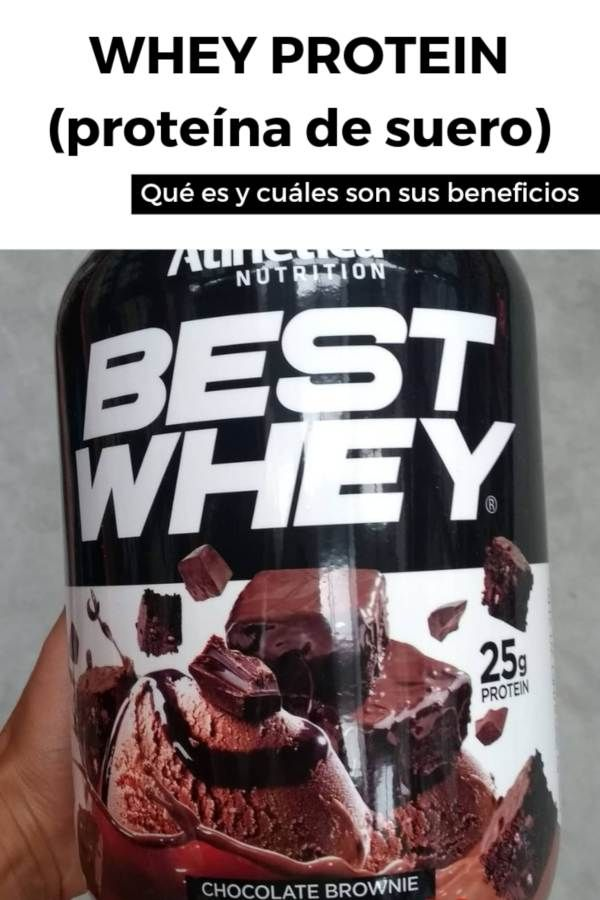 whey protein sirve para bajar de peso