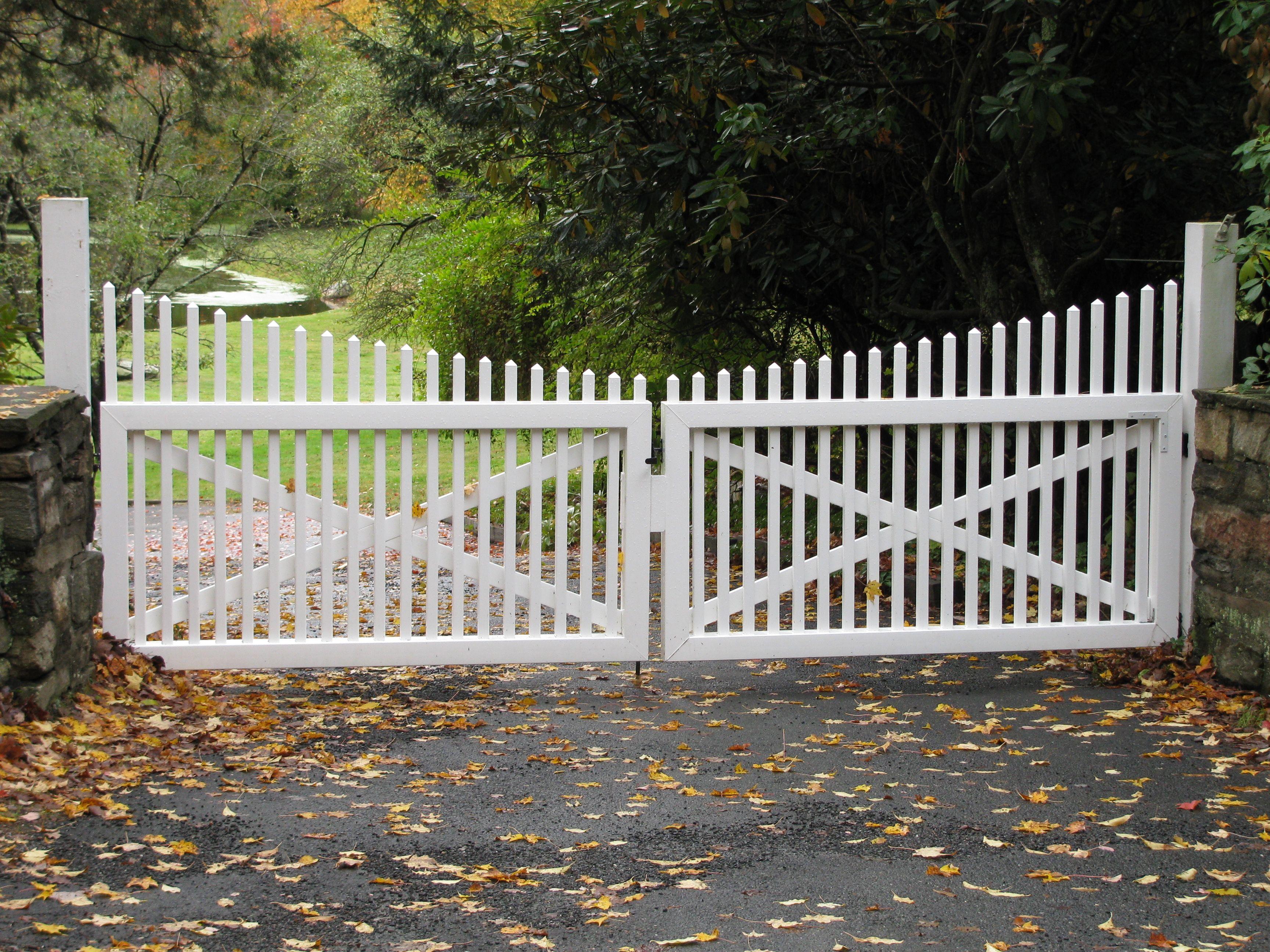 White Picket Fence Ideas