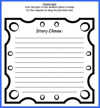 sandwich book report project templates