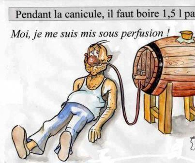 histoire drole canicule