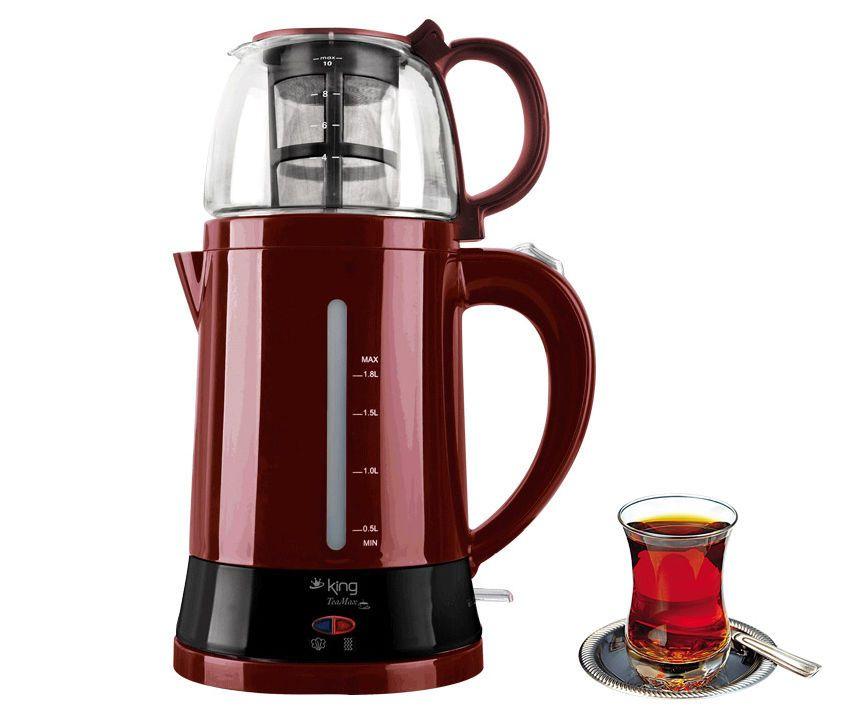 Electric turkish tea pot teapot caydanlik cay maker tea