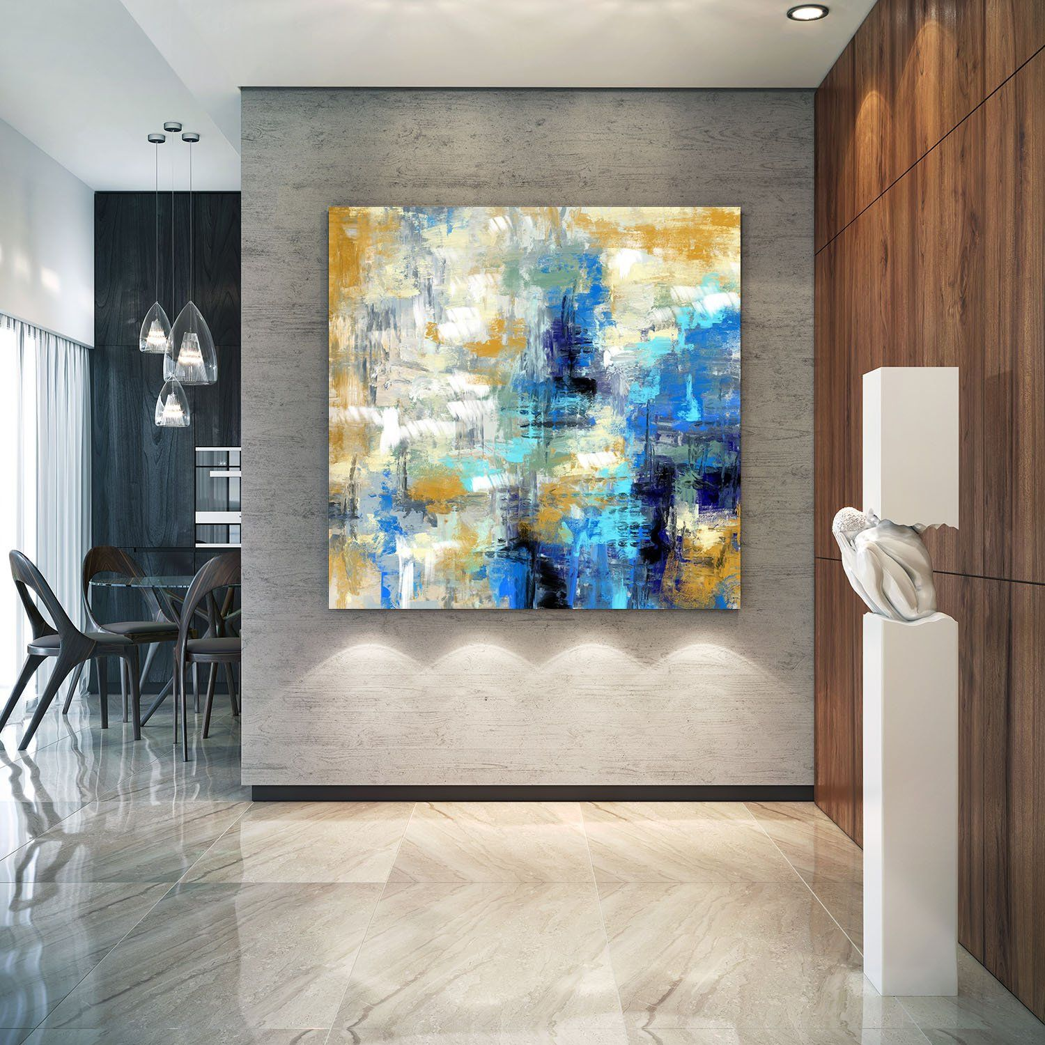 Extra Large Wall Art Palette Knife Artwork Original Etsy Large Abstract Wall Art Extra Large Wall Art Modern Abstract Painting