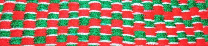 Red Green and White Christmas #Handmade #Doormat Kitchen Bathroom Shower Patio I…#bathroom #christmas #doormat #green